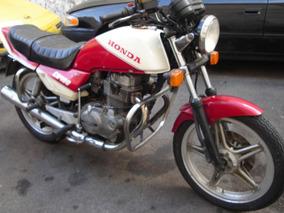 Cb 400 Segundo Dono, Motor Original Nunca Mexido !!!