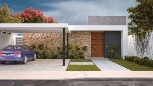 Única Residencia En Lomas De Dzityá, Nuevo Diseño, Una Planta, 3 Habts. Preventa