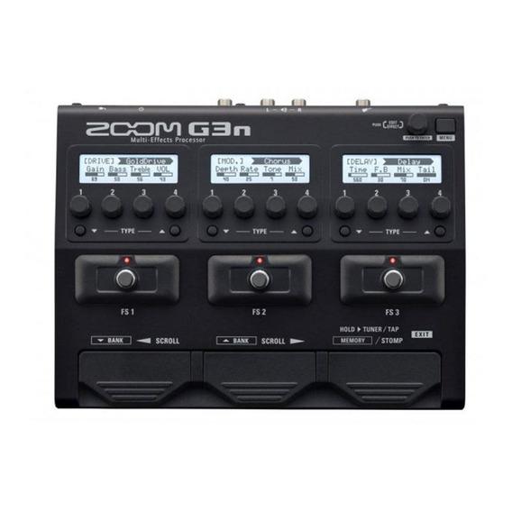 Pedaleira Para Guitarra Zoom G3n - 80 Efeitos E Mais 7 Efeit