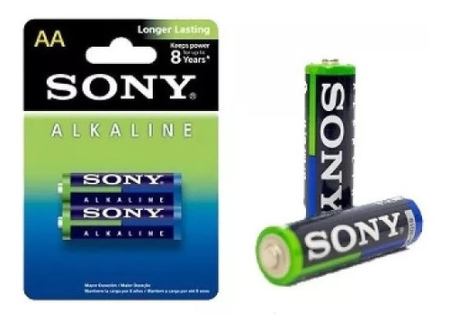 Pilas Sony Alcalina Aa Nuevas Y Selladas De Fábrica
