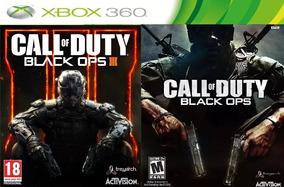 Call Of Duty Black Ops 1 E 3 Em Midia Digital Xbox 360