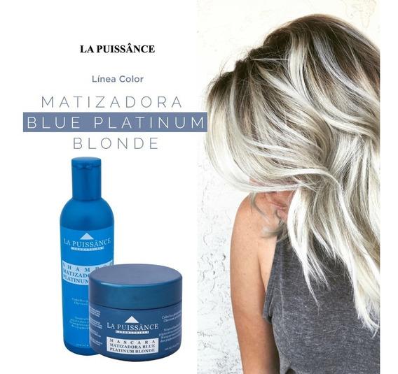 Kit Promo Shampoo Máscara Matizador Blue Azul Puissance