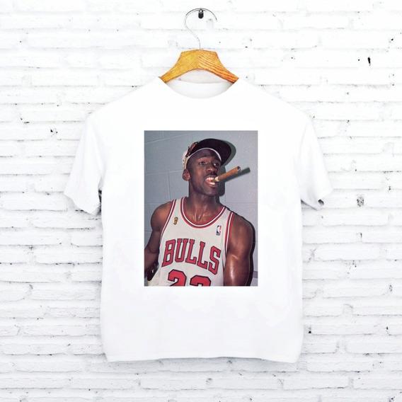 Camiseta Michael Jordan Charuto Basket Basquete B195