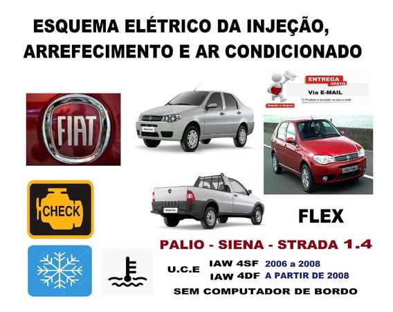 Esquema Injeção Ar Arref Palio Siena Strada 1.4 Flex 4sf 4df