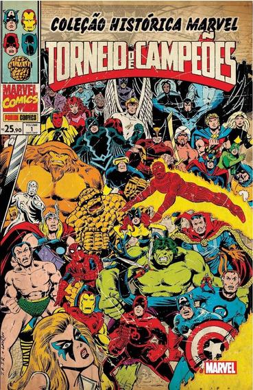 Coleção Histórica Marvel Torneio De Campeões 01 Marvel