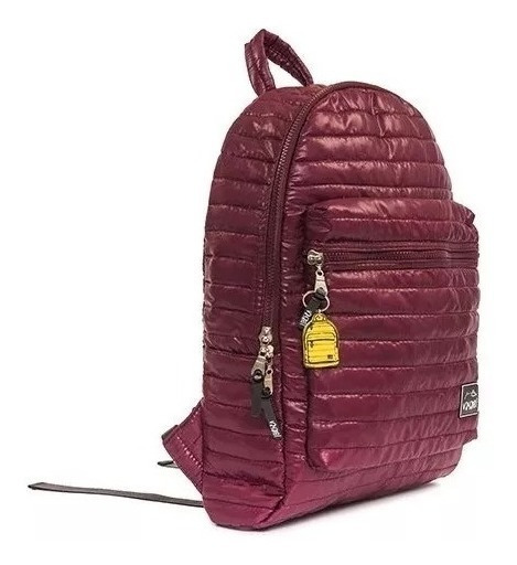 Mochila Colores Porta Notebook Impermeable Bordo