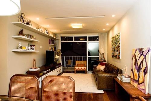Apartamento Com 3 Dormitórios À Venda, 140 M² Por R$ 1.200.000 - Jardim Icaraí - Niterói/rj - Ap1720
