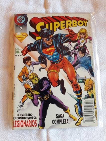 Gibi Raro Antigo Super Boy Número 7 1997
