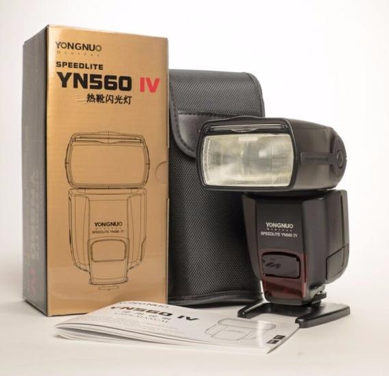 Flash Yongnuo Speedlite Yn560 Iv Universal Sony Canon Nikon