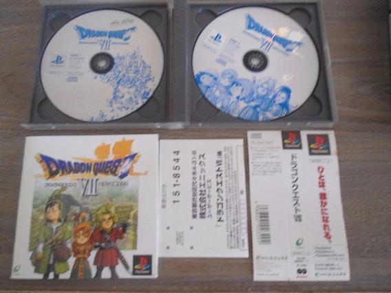Dragon Quest Vii - 7 (dragon Warrior) Pst - Play 1