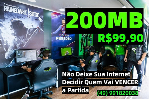 Plano De Internet Residencial 200mb A 1gb Fibra Óptica