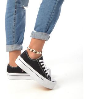 Zapatillas Plataforma Dama Sneakers