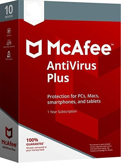 Antivirus Mcafee 1 Ano