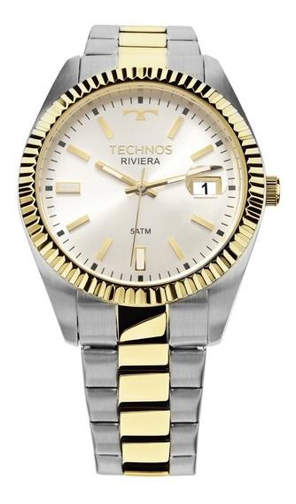 Relógio Technos Masculino Riviera Misto 2415cgtdy/5b
