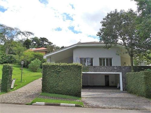 Imagem 1 de 30 de Casa Com 4 Dormitórios, 498 M² - Venda Por R$ 5.500.000 Ou Aluguel Por R$ 17.000 C/ As Taxas - Vila De São Fernando - Cotia/sp - Ca0413