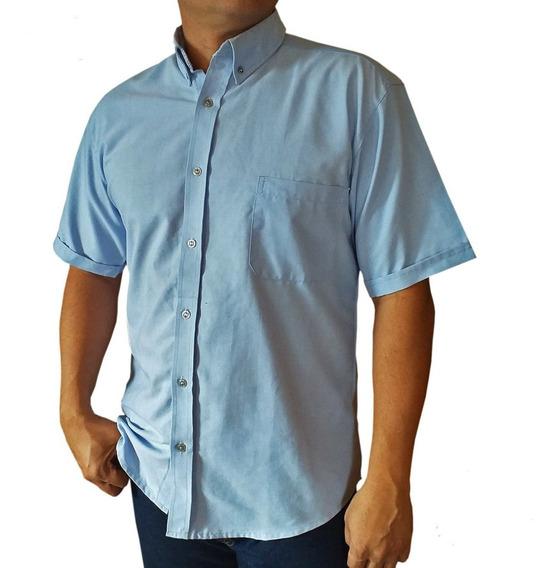 Camisa Safary Caballero Manga Corta (fabrica +4pzas)