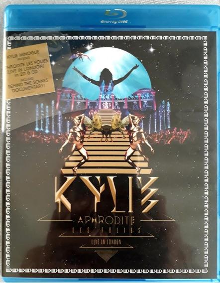 Blu-ray Kylie Minogue Aphrodite Les Folies Live London 3d 2d