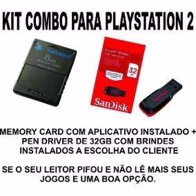 Kit: Memory Card + Pen Drive