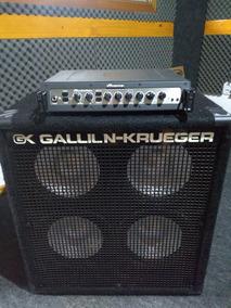 Cabeçote Ampeg Pf500 E Caixa Gallien Krueger