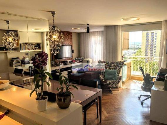 Excelente Apartamento Sala Estendida E Fino Acabamento - Ap0098