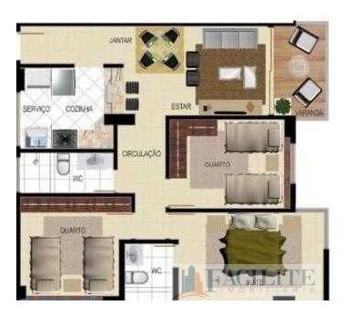 Apartamento A Venda Em Intermares - 22654-11192
