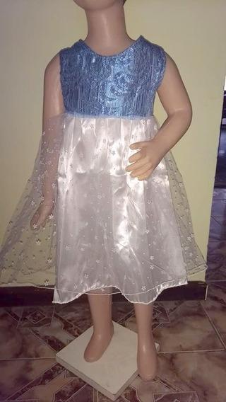 Vestido Talle 4 Tul Fantasia