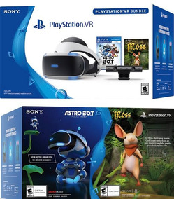 Playstation Ps4 Vr Bundle Moss + Astro Bot