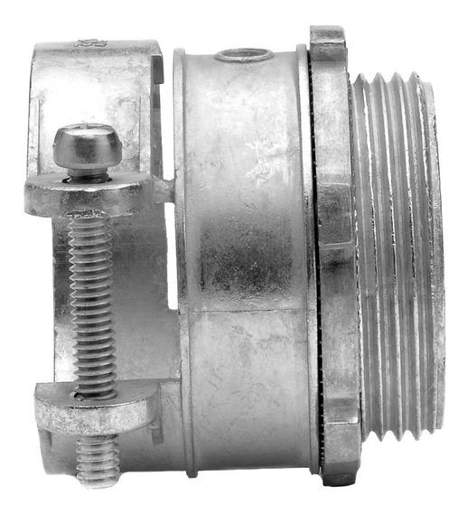 Conector Recto P/ Tubo 1/2 Metálico Flexible Argos