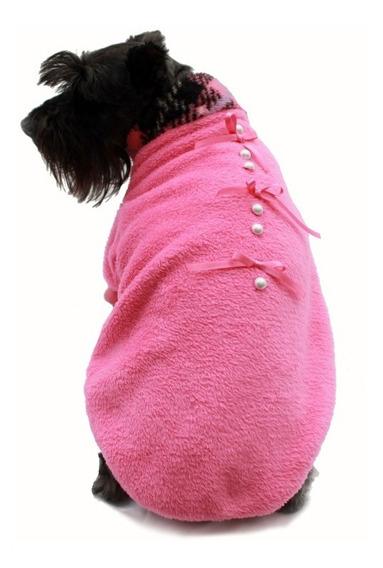 Suéter Polar Cariño Rosa Perro Talla 8 Invierno Pet Pals