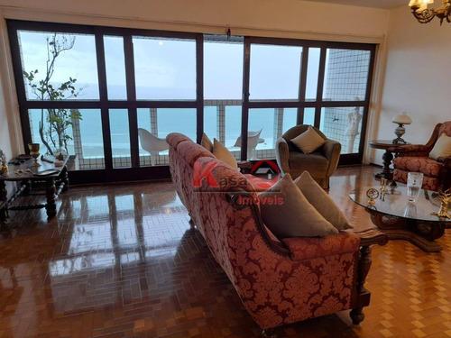 Imagem 1 de 30 de Apartamento Com 3 Dormitórios À Venda, 200 M² Por R$ 950.000,00 - Boqueirão - Santos/sp - Ap10442