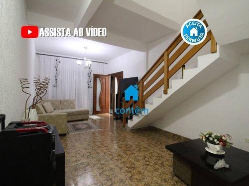 Sobrado Com 3 Dormitórios À Venda, 125 M² Por R$ 550.000,00 - Jardim Marisa - São Paulo/sp - So0069