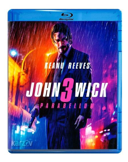 John Wick 3 Tres Parabellum Keanu Reeves Pelicula Blu-ray