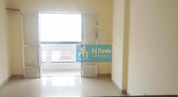 Apartamento Com 2 Dormitórios Para Alugar, 90 M² Por R$ 1.500/mês - Aviação - Praia Grande/sp - Ap0312