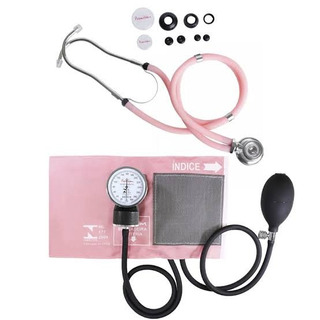 Kit Estetoscópio + Esfigmomanometro - Medidores De Pressão