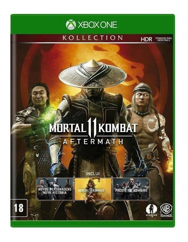Mortal Kombat 11 Aftermath Kollection Warner Bros. Xbox One Físico