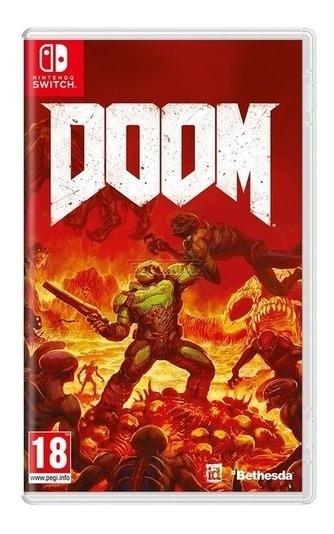 Doom (mídia Física 100% Em Pt-br) - Nintendo Switch