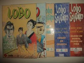 Manga A Volta Do Lobo Solitario 1 A 5 Nova Sampa 1995 Excele