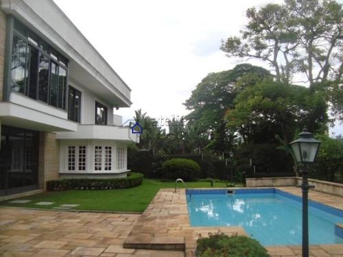 Imagem 1 de 20 de Casa No Jardim Guedala Para Venda Ou Locação, 5 Suítes, 10 Vagas - Ca0365at