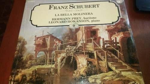 Imagen 1 de 2 de Lp Nuevo Sellado Schubert La Bella Molinera 1985
