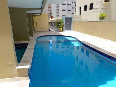 Apartamento Residencial À Venda, Balneário Cidade Atlântica, Guarujá. - Ap0034