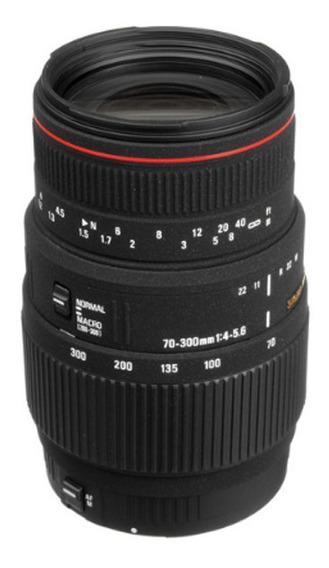Lente Sigma 70-300mm F4-5.6 Apo Dg Macro Para Canon