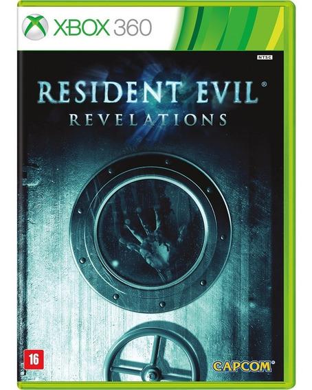 Resident Evil Revelations Xbox 360 Mídia Física Usado Raro