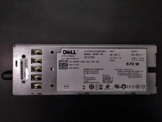 Fonte Dell 870w R710 A870p-00 - Servidor