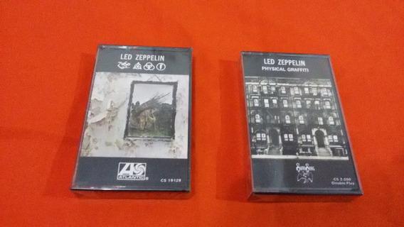 Physical Graffiti E Led Zeppelin 4 K7 Lacradas Importadas