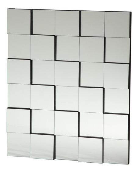Painel 3d Espelhado 50x40cm - Espelho Decorativo Aparador