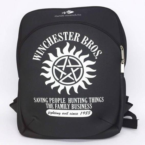 Mochila Winchester Bros - Supernatural