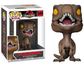 Funko Pop Velociraptor 549 Jurassic Park Baloo Toys