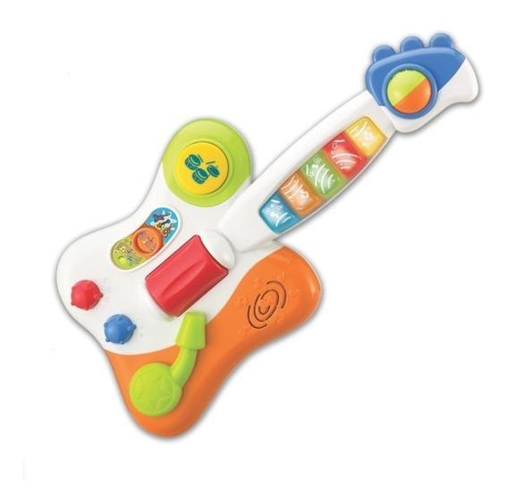 Brinquedo Guitarra Musical Baby Estrela Do Rock Win Fun 2000