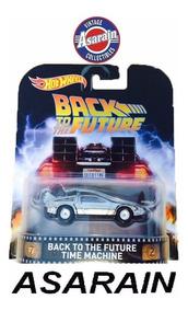 Delorean De Volta Para O Futuro 1 Time Retro Hot Wheels 1/64