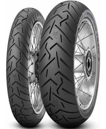 Par Pneu Cb 120/70r17 + 160/60r17 Scorpion Trail 2 Pirelli